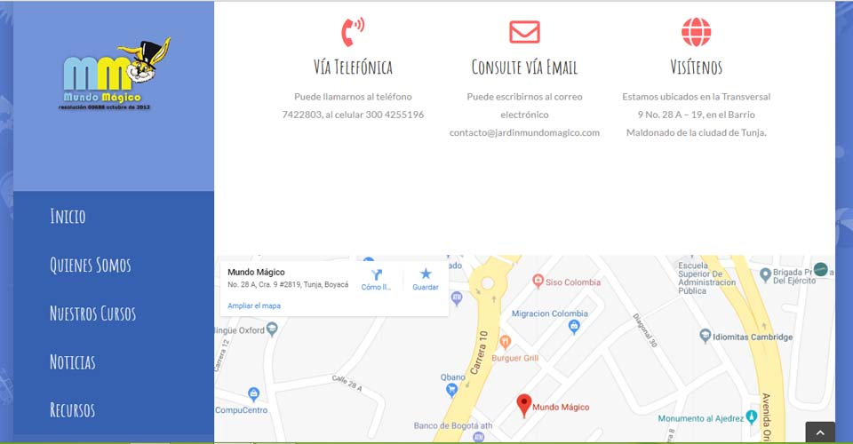 colegio_pagina_web_mapa_tunja